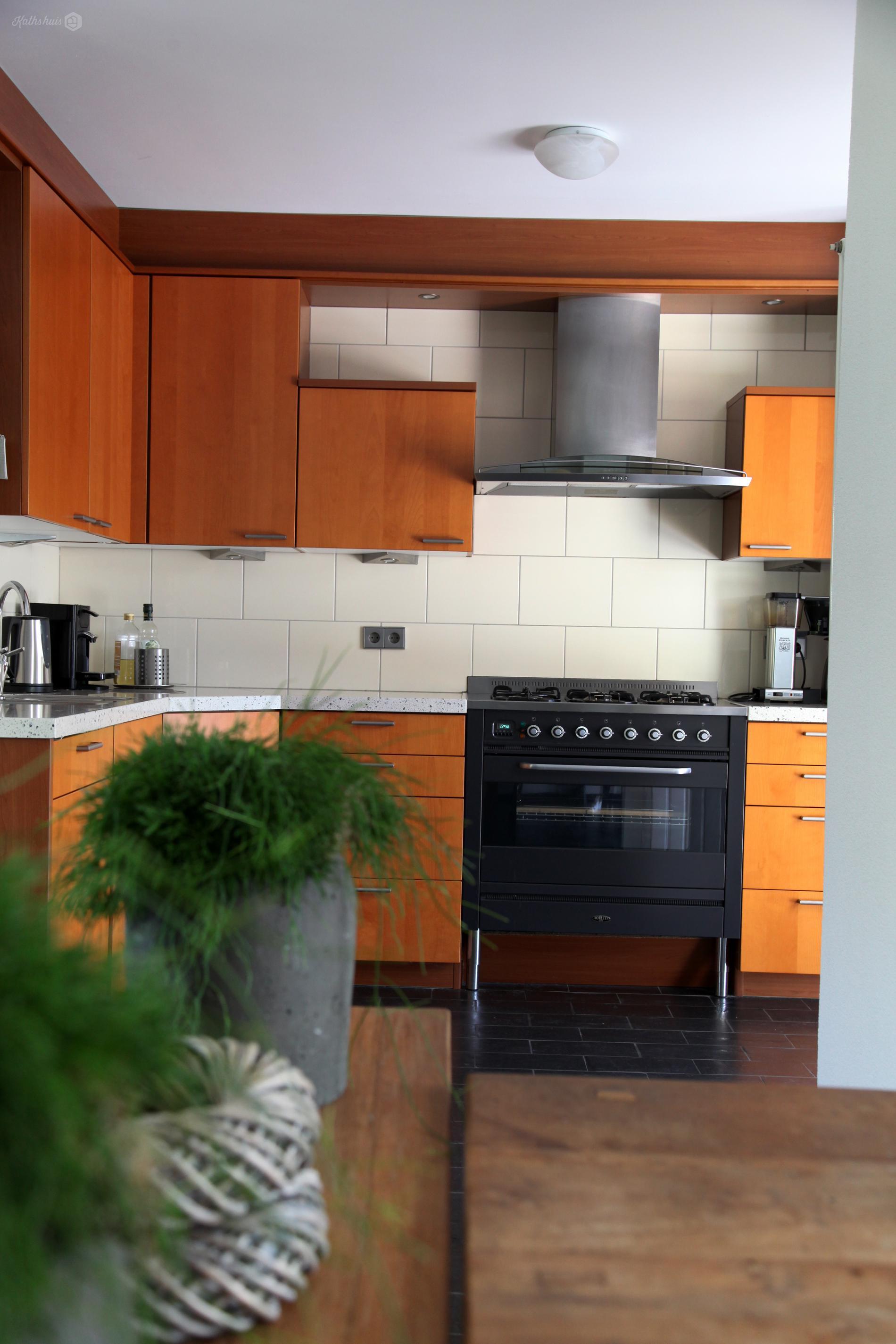 Kathshuis inrichting woonkamer met open keuken - Open keukeninrichting ...