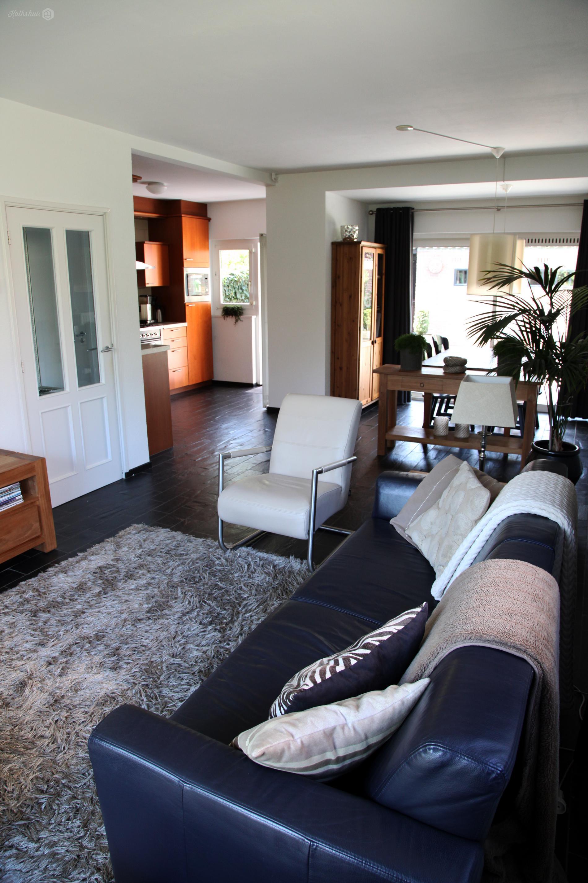 Kathshuis inrichting woonkamer met open keuken - Decoratie woonkamer met open keuken ...